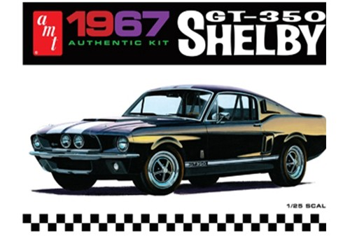 1967 SHELBY GT350 – BLACK 1:25 (AMT834)