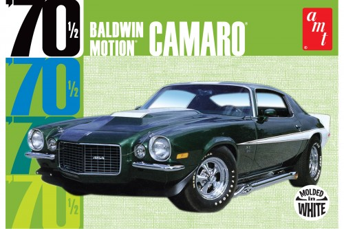 BALDWIN MOTION 1970 CHEVY CAMARO – WHITE 1:25 (AMT854)