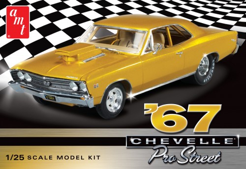 1967 CHEVY CHEVELLE PRO STREET 1:25 (AMT876)
