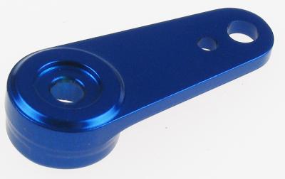 ALUM. CNC SERVO ARM (BLUE)  (FUT/JR/HITEC)
