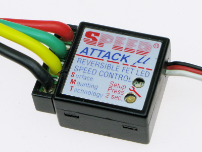 SPEED ATTACK BRUSHED CAR ESC (15-36 TURN)