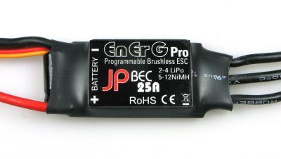 ENERG PRO 25 BEC ESC (25A) (2-4 CELLS)