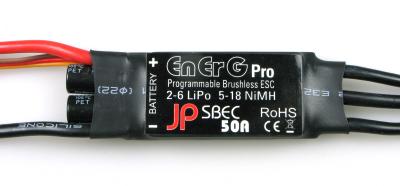 ENERG PRO 50 SBEC ESC (50A) (2-6 CELLS)
