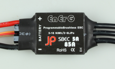 ENERG PRO B-85 SBEC ESC (85A) (2-6 CELLS)