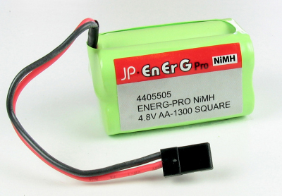 ENERG-PRO NIMH 4.8V AA-1300 SQUARE