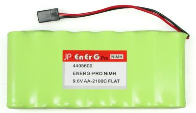 ENERG-PRO NIMH 9.6V AA-2100C FLAT TX