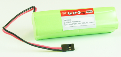 ENERG-PRO NIMH 9.6V AA-2100C SQUARE TX PACK