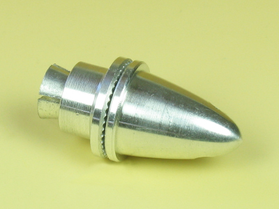 MED COLLET PROP ADAPTOR WITH SPINNER (3.17MM)