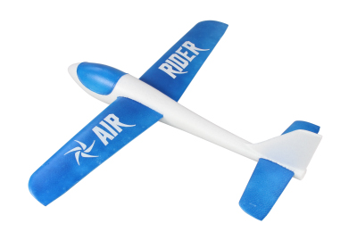 JP AIR RIDER EPO FREE FLIGHT GLIDER (BLUE)