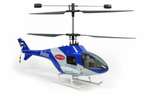TWISTER POLICE HELICOPTER W/ LIGHT RTF