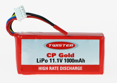 TWISTER CP GOLD LIPO BATTERY