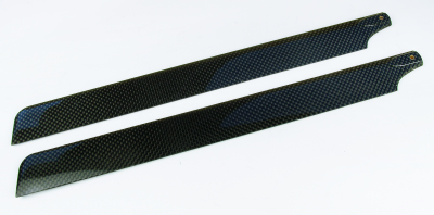 TWISTER 3D STORM CARBON MAIN ROTOR BLADES