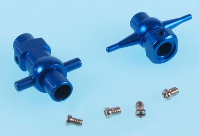 TWISTER MEDEVAC CNC ALU. LOWER HUB (OPTION)