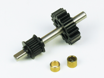 TWISTER 3D STORM T/R DRIVE GEAR & SHAFT SET