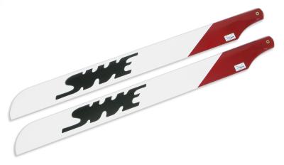 SWE 600DCW CARBON FIBRE M/ROTOR BLADES (600MM