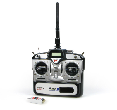 PLANET T7 2.4GHZ TX & RX SET (MODE II)