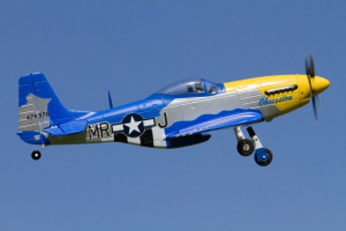 P-51D MUSTANG 350 RECEIVER READY
