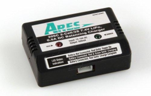 CHARGER DC BALANCING 0.5A - 7.4V (2 CELLER LIPO)