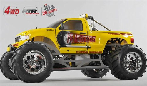 MONSTER TRUCK WB 535, 4WD, RTR, YELLOW BODY