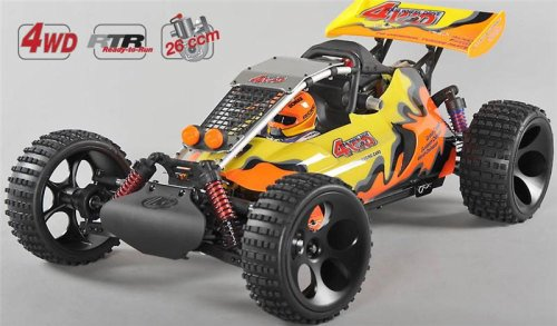 OFF-ROAD BUGGY WB 535, 4WD, RTR, COLOURED BODY