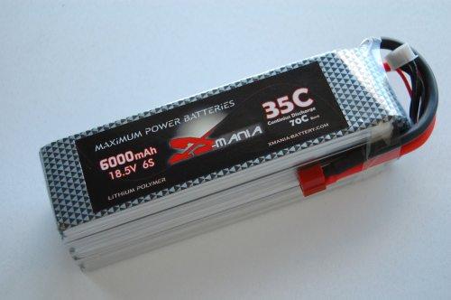 18.5 V / 6000mAh 35C  DEANS - XH