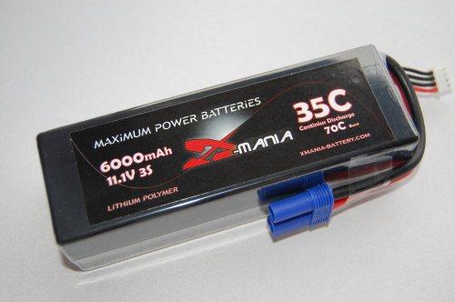 HARDCASE 11.1V - 5200mAh  35C  EC5  - XH