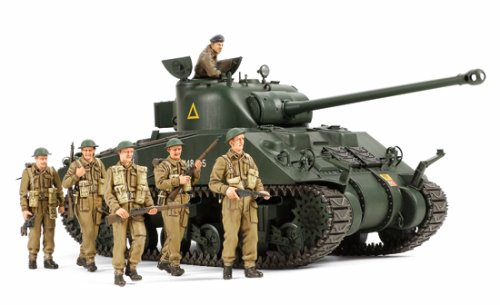 SHERMAN VC FIREFLY WITH 6 FIGURE 1/35