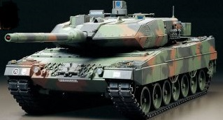 RC LEOPARD 2 A6 WITH OPTION KIT