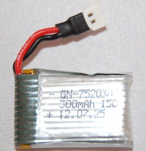 BATTERY 3.7V - 250mAh LIPO - EFLY