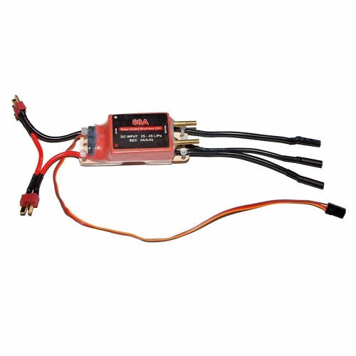 60A WATER COOLED BRUSHLESS ESC W/ ONE DEANS CONNECTOR