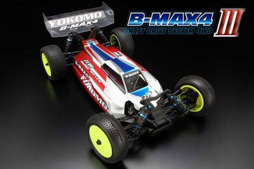 B-MAX4III - 4 WD OFF ROAD CAR - BUGGY WITH LW CHASSIS