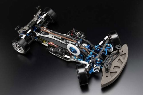 YOKOMO DRIFT PACKAGE A-ARM DIB BLUE COLOR