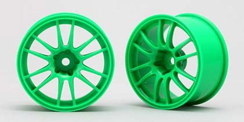 ENKEI RACING GTC 01 WHEELS (GREEN) YOKOMO