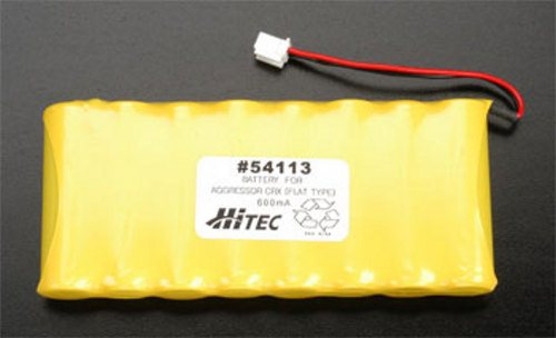 BATTERY FOR AGGRESSOR CRX (FLAT TYPE)