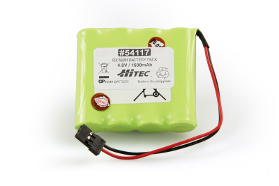 RX NIMH BATTERY PACK 4.8V, 1600MAH (FLAT TYPE)