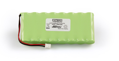 TX NIMH BATTERY PACK 9.6V, 1300MAH ELCO (FLAT TYPE)- AGGRESS