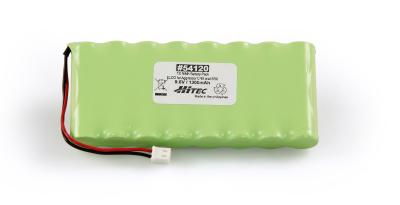 TX NIMH BATTERY PACK 9.6V, 1300MAH ELCO (FLAT TYPE)- AGGRESS