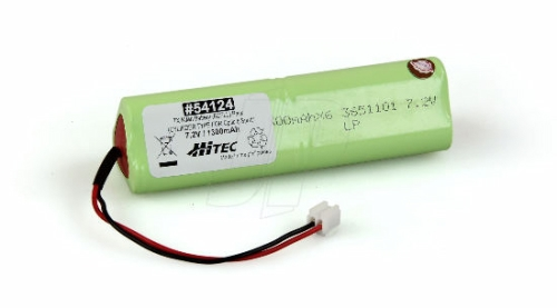 TX NIMH BATTERY (6CELL) PACK 7.2V, 1,300MAH (CYLINDER TYPE F