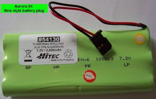 BATTERY TX NIMH BATTERY PACK 7.2V, 200MAH FLAT FOR AURORA 9X