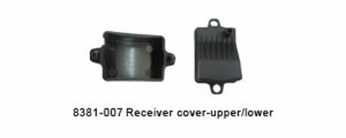 RECEIVER COVER-UPPER/LOWER