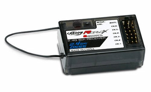 CARSON REFLEX STICK RECEIVER 6 CHANNELS - 2.4 GHZ