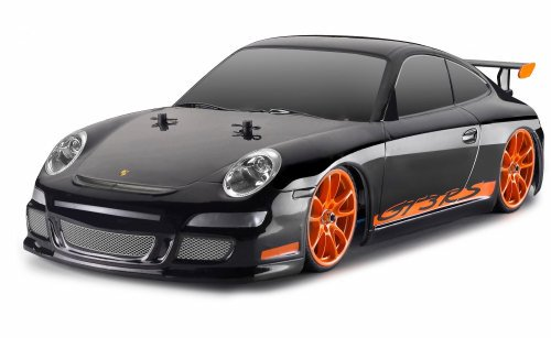 BODY PORSCHE GT3 INCL. DECALS, WITHOUT HOLES