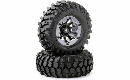 1:10 TIRE SET CRAWLER 96MM