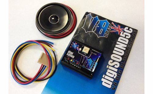 MTRONIKS DIGI-SOUND 5C V8 BIG BLOCK