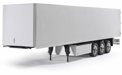 1:14 3 AXLE SEMI TRAILER VER II WHITE