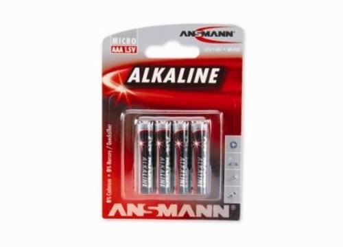 ANSMANN AAA RED LINE 4 PK - LR03